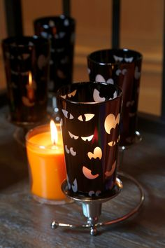 Spooky Eyes  Votive Holder. Available July 28. #PartyLite #candles