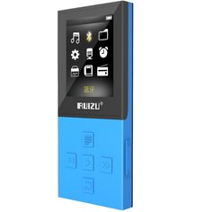 New Original RUIZU X18 Sport MP3 Player Bluetooth with 8G can playing130 Hours high quality lossless Recorder FM Bluetooth 4.0