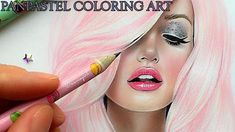Creative And Beautiful  Pan Pastel Art Coloring by navasy