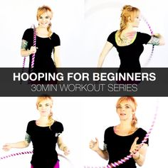 Increase Stamina, How To Increase Energy, Weighted Hula Hoops, Hula Hoop Workout, Tone It Up, Workout For Beginners, No Equipment Workout, Workout Programs, At Home Workouts