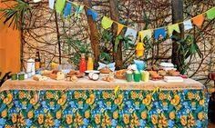 Arraiá mais que chique: uma festa junina com sotaque nordestino - Casa.com.br Block Party, Leroy Merlin, Fun Games, Party Time, Make It Yourself, Table Decorations, Kids, Home Decor, Folk