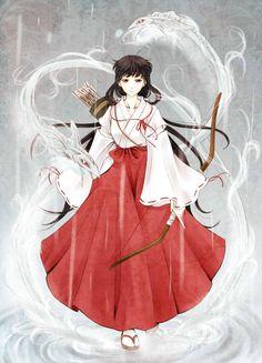 inuyasha, kikyo