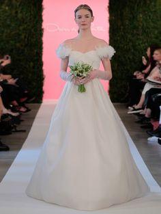 Oscar De La Renta Wedding Dresses 2015 - MODwedding