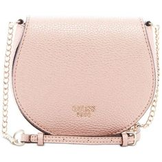 391e5050bb469 Guess Cate Mini Saddle Crossbody Bag ($60) ❤ liked on Polyvore featuring  bags,
