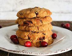 Coconut Flour Cranberry Cookies Recipe