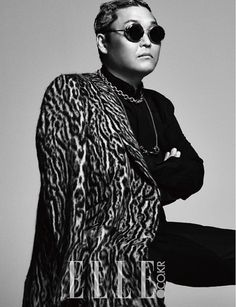 PSY is Featured Inside the Cover of Elle Magazine Psy Kpop, Psy Daddy, Fandom, Korean Entertainment, Pop Songs, Elle Magazine, Bigbang, Rapper, Photoshoot