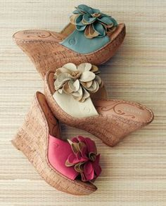 Born Lovina Flower Wedge Sandals.... I have these , the are truly so comfortable ...never believe they are a high wedge.... .