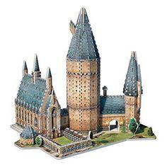 puzzle 3D Castillo Herry Potter