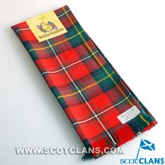 Clan Boyd Tartan Scarf