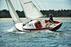 Off the Drawing Board - The Marlin Heritage 23 and the Selkie | Maine Boats Homes & Harbors