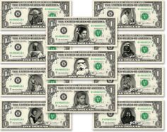 Michael Jackson *King of Pop* Dollar Bill in COLOR}- REAL, Spendable Money!