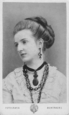 1869 - Queen Margharita di Savoia