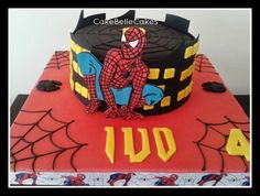 Spiderman Cake - CakeBelle