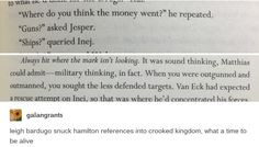 The amount of times I started singing Hamilton songs while reading this book>>>References were literally everywhere...