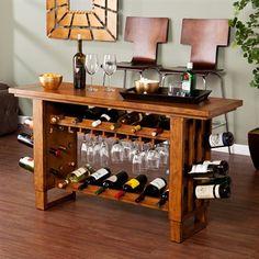 Boston Loft Furnishings ATG8962 Halcroft Riddling Wine Console