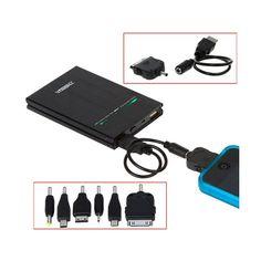 Baterias de GRAN DURACION, cargadores de emergencia para aparatos electronicos economicos