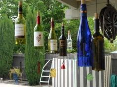 wine bottle crafts | Wine Bottle Crafts - Useful Ideas and Tips