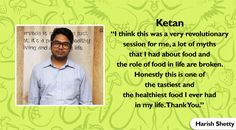 Thank you very much for your appreciation Ketan. #HarishShetty #Ketan #TuesdayTestimonial