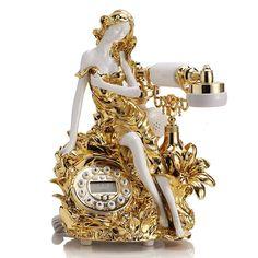 Telephone Vintage, Vintage Phones, Telephone Call, Cool Things To Buy, Old Things, Antique Phone, Retro Phone, Home Phone, Vintage Bottles
