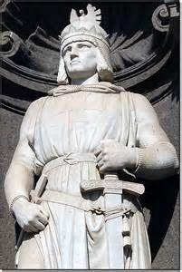 STATUA DI FEDERICO II - IMPERATORE DEL SACRO ROMANO IMPERO