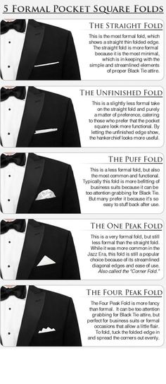 the pocket square; a symbol of a distinguished and polished Gentleman.