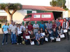 visita de alumnos del curso de Cata de septiembre a bodega Presas Ocampo de la D.O. Tacoronte-Acentejo
