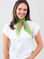 Double Wrap French Knot SCARF KNOT MASTER LIST