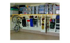 What a beautiful garage! Article on organizing all the stuff in there.