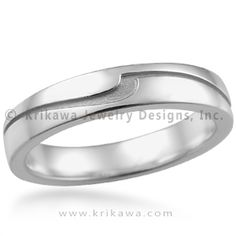 wave wedding rings