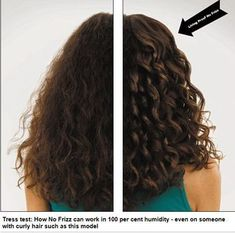 Living Proof No Frizz hair products - founded by Professor Robert Langer, of the Massachusetts Institute of Technology. Uses a lab-made compound called polyfluoroester, lighter than silicone that repels oil and water and helps hair from being frizzy, even in humid conditions!