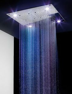 Colour Therapy Rain Spa Shower Heads | It's A Colourful Life