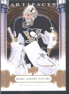 2009 /10 Upper Deck Artifacts Hockey Card # 91 Marc-Andre Fleury Penguins Mint Condition- Shipped In Protective ScrewDown Display Case! by Upper Deck. $2.95. 2009 /10 Upper Deck Artifacts Hockey Card # 91 Marc-Andre Fleury Penguins Mint Condition- Shipped In Protective ScrewDown Display Case!