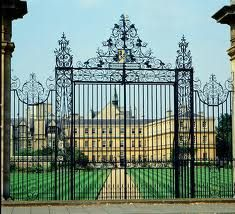 Trinity College, Oxford - Gatsby's College ... for a time ...