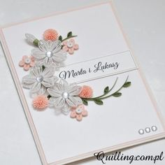 quilling 72_1 Paper Quilling Cards, Quilling Paper Craft, Quilling Flowers, Quilling Videos, Quilling Techniques, Quilling Patterns, Quilling Designs, Quiling Cards, Quilled Creations