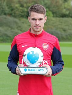Trophies at last! Arsenal duo scoop awards Aaron Ramsey EPL Player of the Month for September Arsenal Fc, Arsenal Players, Arsenal Football, Arsene Wenger, Don Juan, Gareth Bale, North London, Olympic Games, Fernando Torres