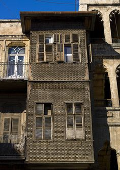 Old House In Aleppo, Syria by Eric Lafforgue