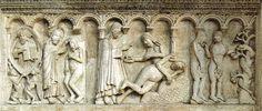 Wiligelmo, Creazione di Adamo ed Eva, 1099-1106  Duomo di Modena