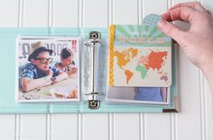 Instagram Mini Photo Album - prints from Persnickety Prints. Super cute!