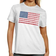 NASCAR Chase Authentics Joey Logano Ladies Americana T-Shirt - White (Small) by Chase Authentics. $21.95. Ladies, you're a proud American and a Joey Logano fanatic. Luckily for you, combining your two favorite things has never been easier than it is with this Americana tee by Chase Authentics. It features a large printed US flag with Logano's name making the stripes and his #20 as the stars. This unique look will make every NASCAR fan proud to be an American.100% CottonLightwe...