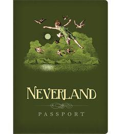 Neverland Passport (it's a notebook in fact!)