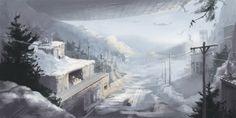 Alpine Invasion -by Sean Seal