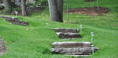 Hillside Steps and Waterfall Stream | J.C. Rock Natural Stone ...