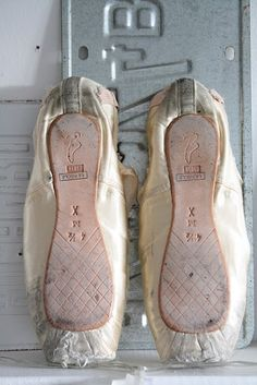 old ballet shoes