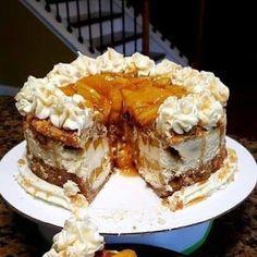 Banana Pudding Cheesecake, Banana Pudding Recipes, Cheesecake Bites, Cheesecake Recipes, Dessert Recipes, Homemade Cheesecake, Baking Desserts, Quick Recipes, Baking Recipes