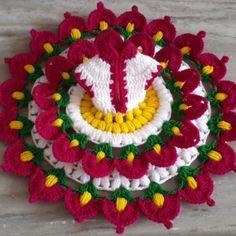 Crochet Flower Tutorial, Crochet Flowers, Diy Beaded Rings, Laddu Gopal Dresses, Ladoo Gopal, Krishna Statue, Diy And Crafts, Paper Crafts, Diy Hair Care