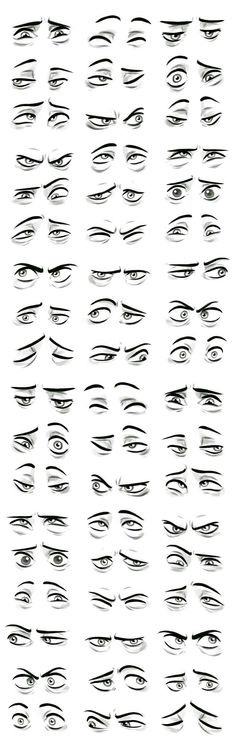 Eye drawing tutorial character design New ideas Drawing Techniques, Drawing Tips, Drawing Sketches, Art Drawings, Drawing Faces, Drawing Ideas, Sketching, Drawing Art, Anatomy Drawing