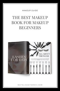 The best makeup book for beginners is out there! Find the best makeup tips for beginners on this book – a no-nonsense guide for makeup beginners to finally learn about makeup application, color correction, makeup brushes, makeup tools and more. This is the only book you'll ever need! #Makeup #MakeupTips