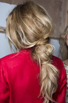 Easy, messy ponytail Hair Images, Fast Hairstyles