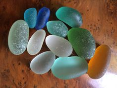 Seaglass from Italy