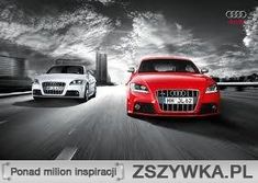 Audis #cars #red #white
